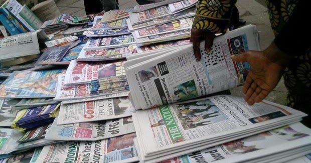 Top 10 things to note from Nigerian Newspapers this Thursday morning
