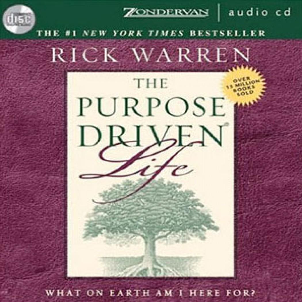 Free self development audio books download the purpose driven life by….