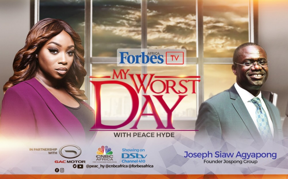 Ghana's Waste Management Billionaire Joseph Siaw Agyapong features on Forbes Africa's 'My Worst Day With Peace Hyde' | Teaser