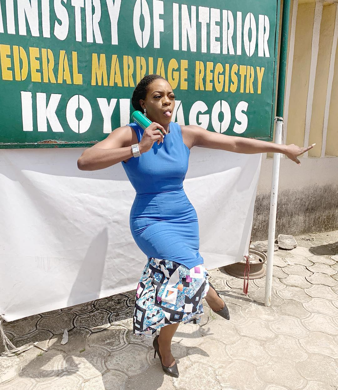 Shade Ladipo is Legally Married!