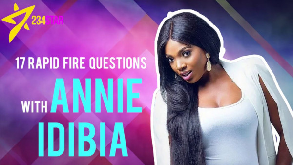 Annie Idibia disscuses Feminism, First Crush & 2Baba on 17 Rapid Fire Questions | Watch!