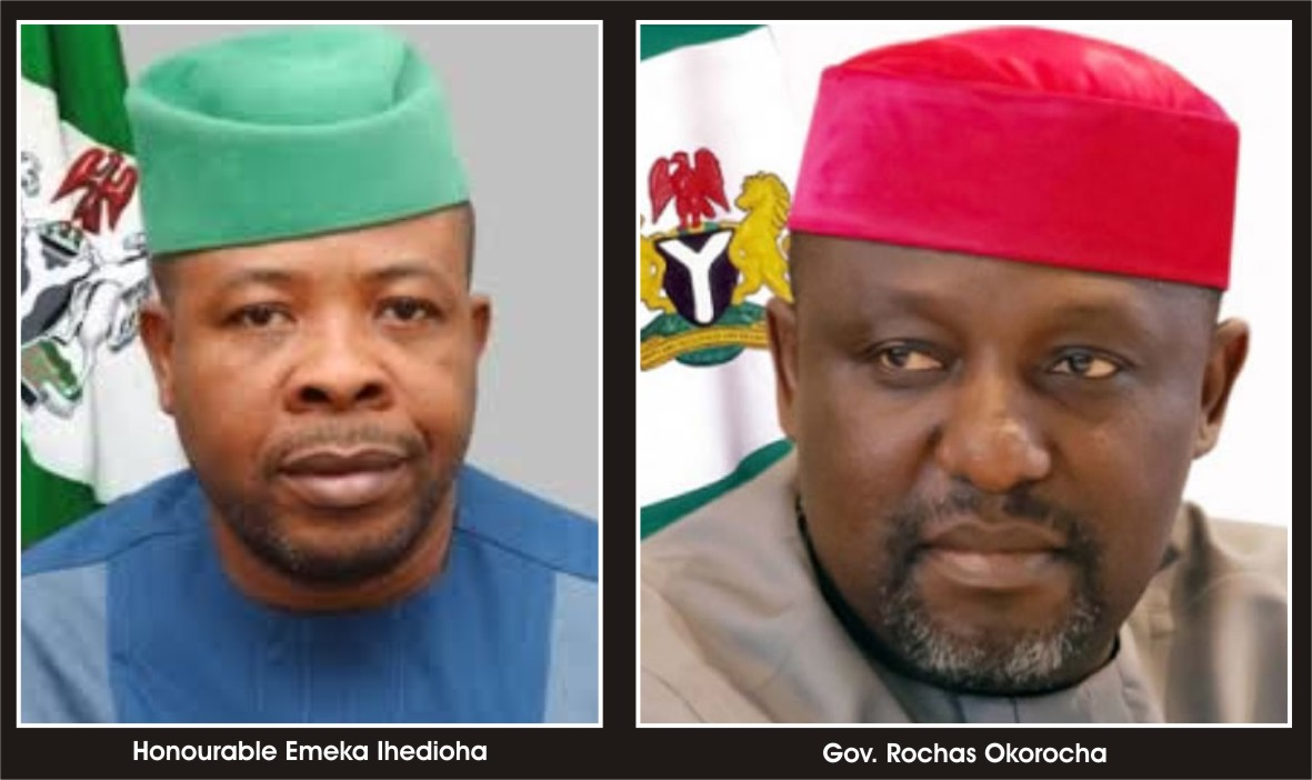 Why I'm after Okorocha - Governor Ihedioha reveals