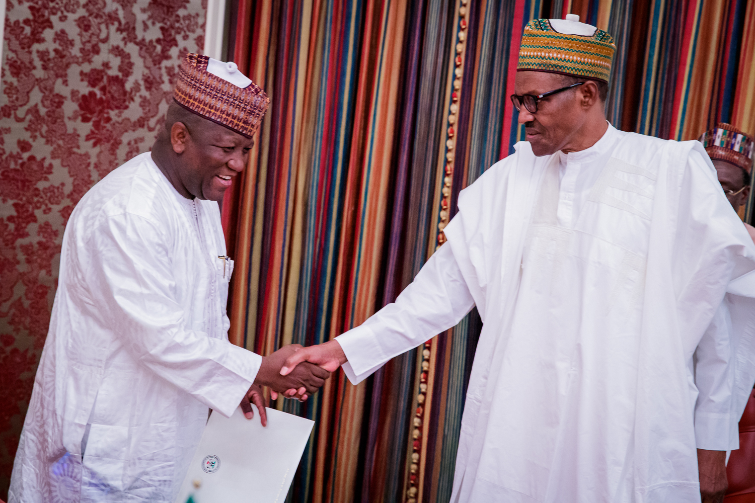 Buhari hosts Yari in Saudi Arabia, queries insecurity in Zamfara