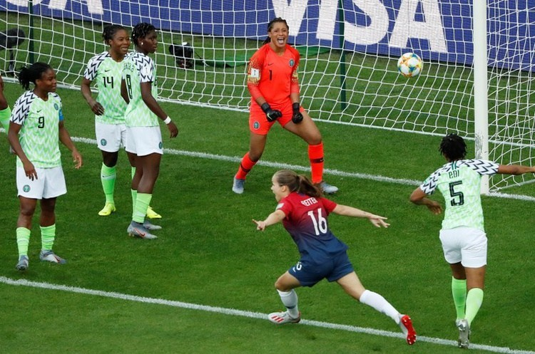 Nigeria's Super Falcons defeated 3-0 by Norway in World Cup opener