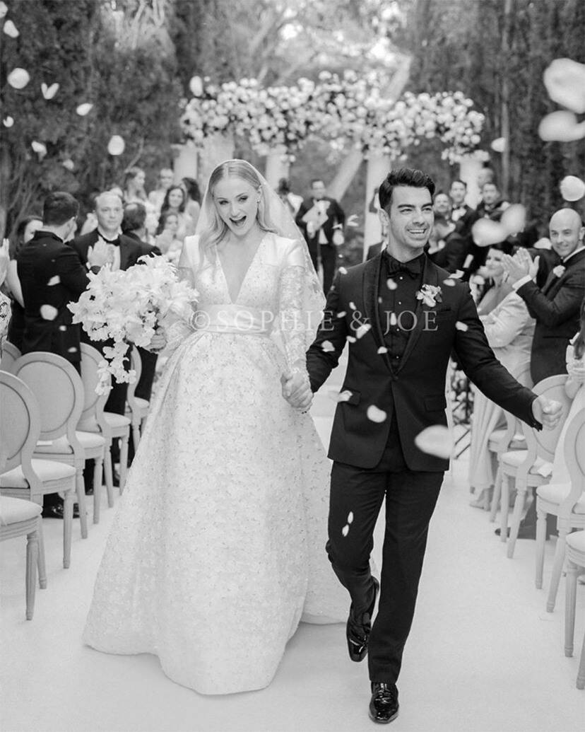 Joe Jonas weds GOT star Sophie Turner in beautiful wedding in France