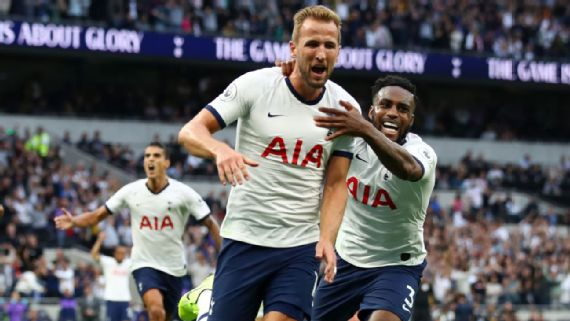 Harry Kane Strikes Late Double As Spurs Come From Behind To Beat Aston Villa