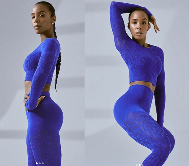 Kelly Rowland shows off her stunning body with new clothing line collection