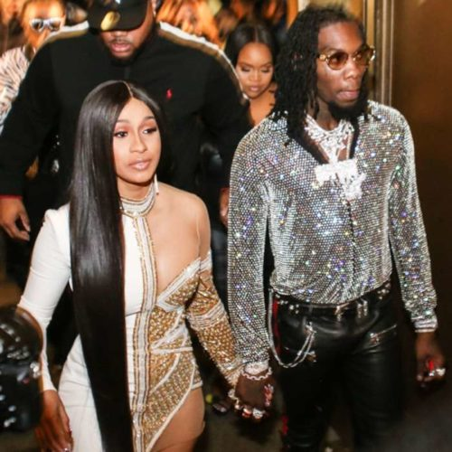 Offset gets engagement ring from Cardi B