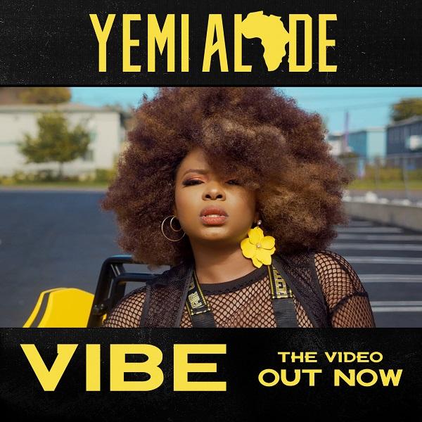 Yemi Alade – Vibe [VIDEO]