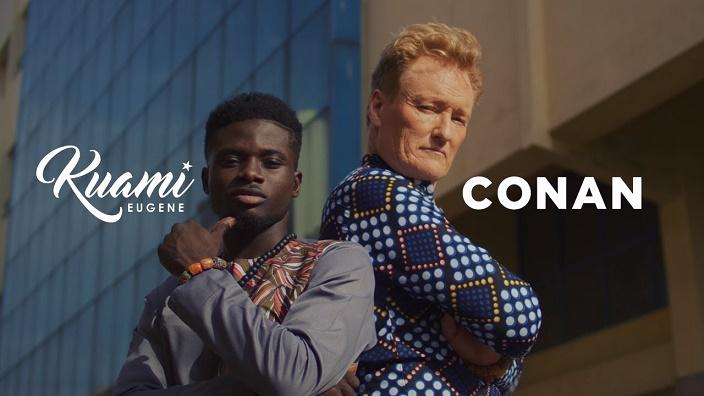 Kuami Eugene ft. Conan O'Brien – For Love [VIDEO]
