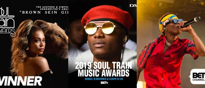Wizkid BET soul Train awards 2019
