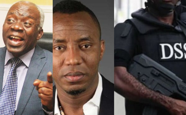 Falana to DSS: You are not authorized to verify Sowore's sureties