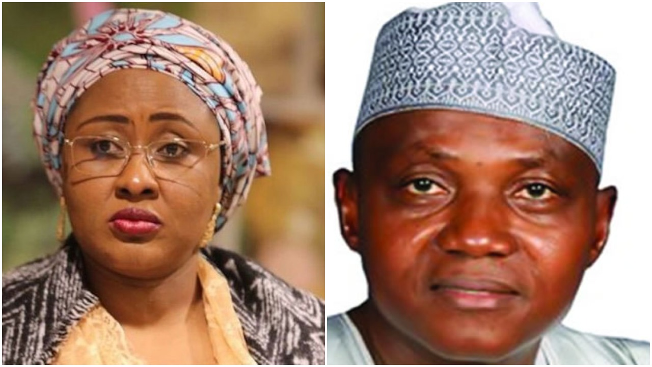 Exposed! Real Reasons Aisha Buhari is against Garba Shehu