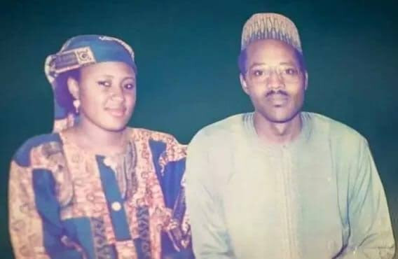 President Buhari and his wife, Aisha celebrate 30th anniversary