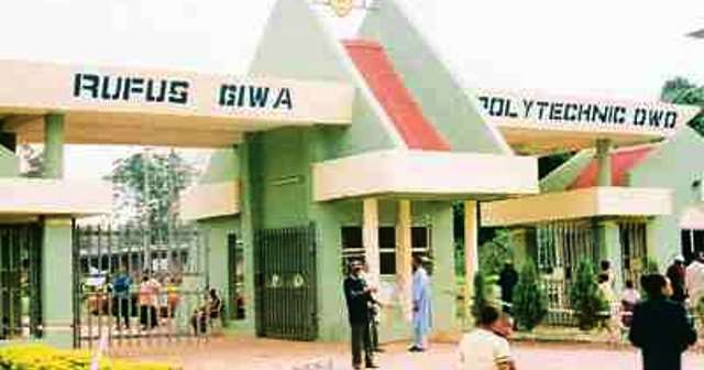 Sacked Rufus Giwa Poly staff reject reinstatement