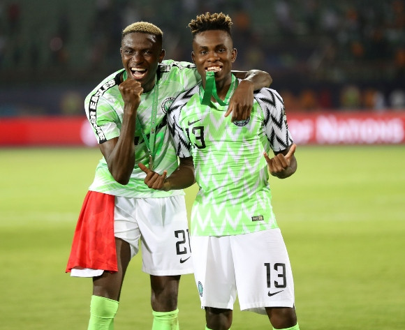 Image result for Victor Osimhen and Samuel Chukwueze