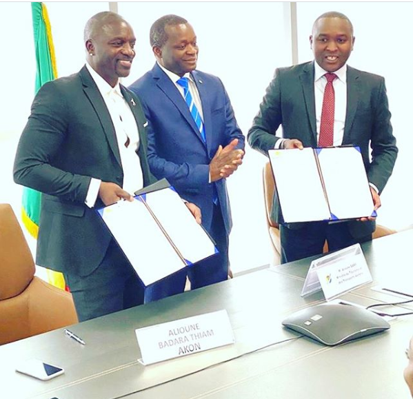 Akon finalizes plans for Akon City in Senegal