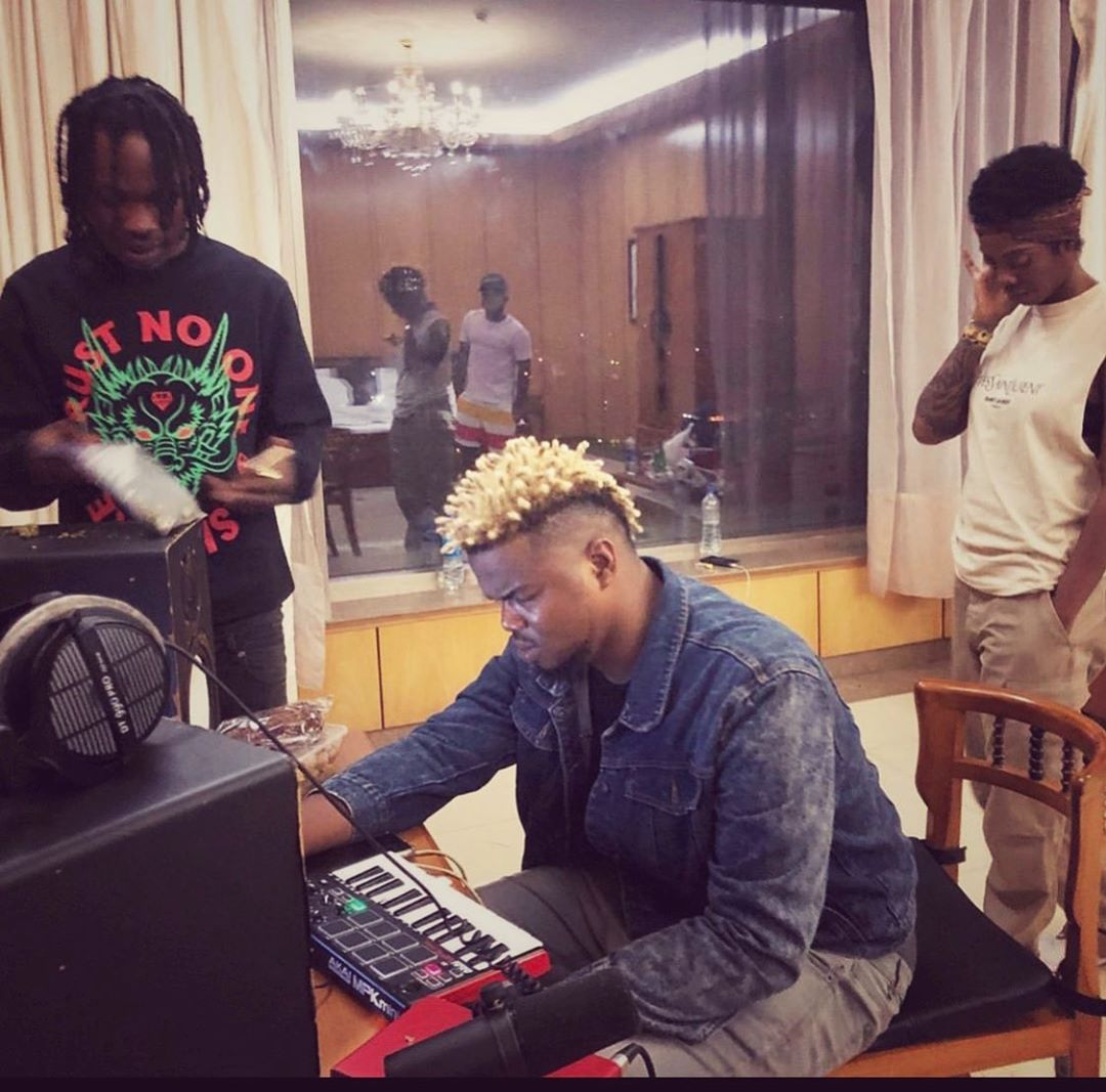 Tiwa Savage, Naira Marley link up with Rexxie in the studio ...