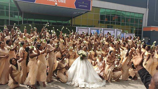 Inside gist on Sandra Ikeji's 200 bridesmaid