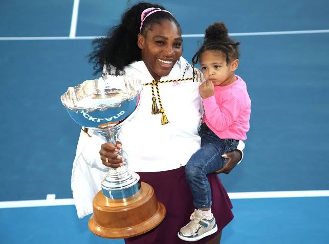 Serena Williams wins first title since having her daughter