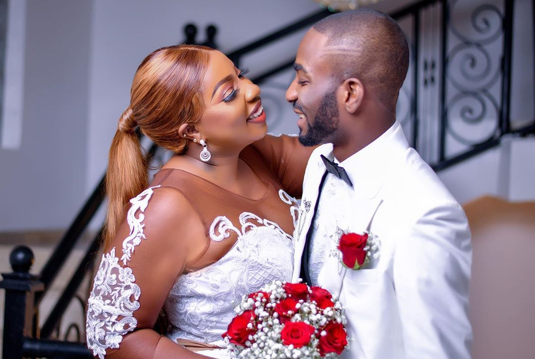 See powerful prayer newly wedded Anita Joseph shared to her husband