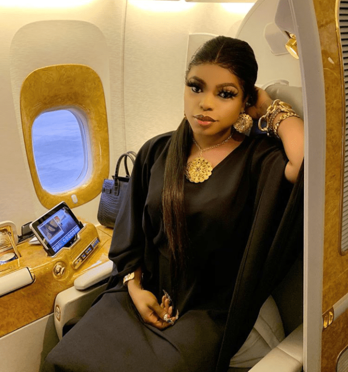 Bobrisky verbally abused by Nigerians in Dubai