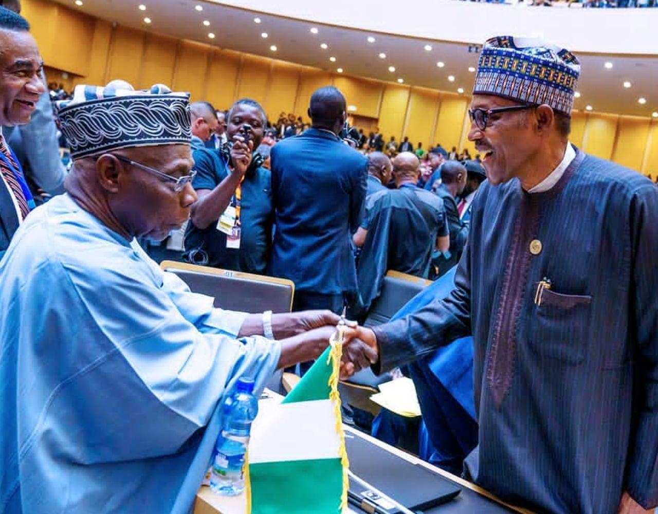 Buhari, Obasanjo meet on Sunday [PHOTO]