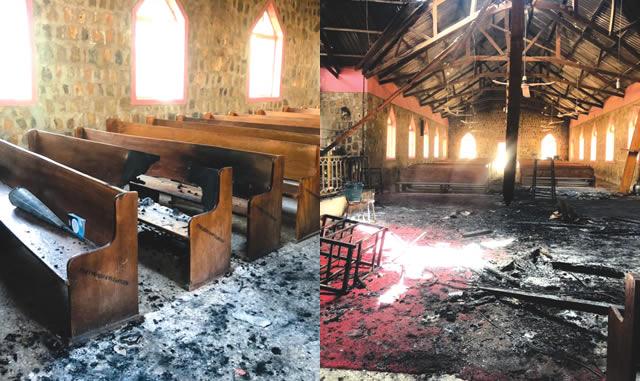 Boko Haram burns two churches in Adamawa