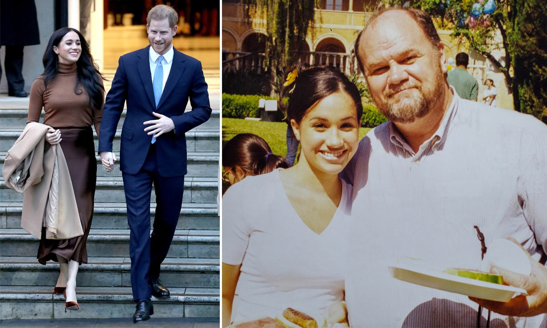 Meghan Markle's father blasts her, accuses her of dumping every family
