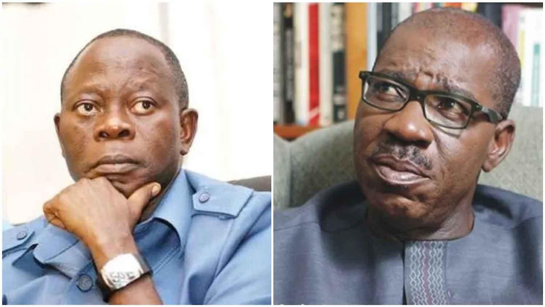 Oshiomole should notify me before visiting Edo, Obaseki insists