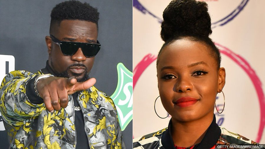 Sarkodie publicly apologizes to Yemi Alade after 3-year fall out