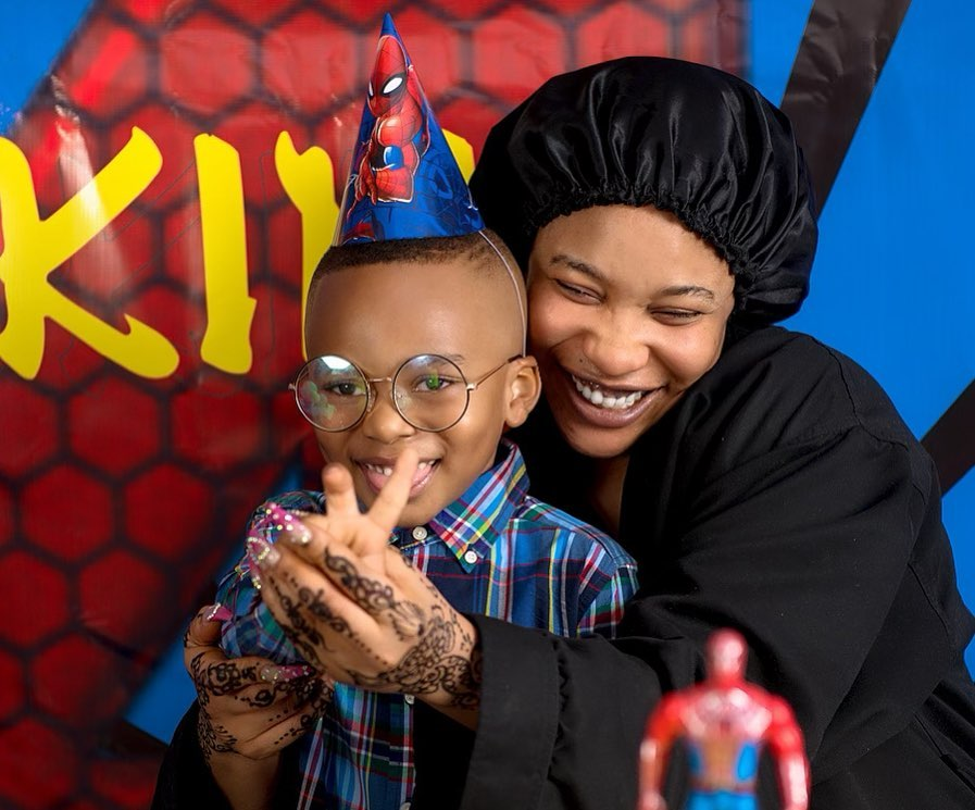Tonto Dikeh goes all out to celebrate son's birthday amidst lawsuit drama