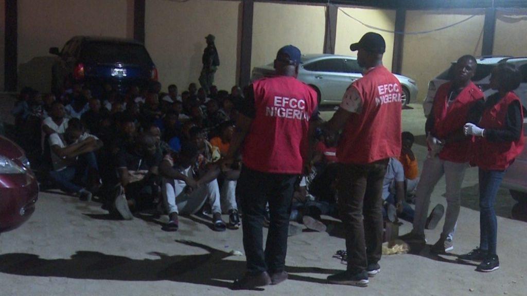 EFCC raids Lagos hotel, arrest 80 for internet fraud