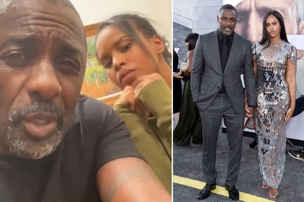 Idris Elba explains why wife was with him despite Coronavirus infection
