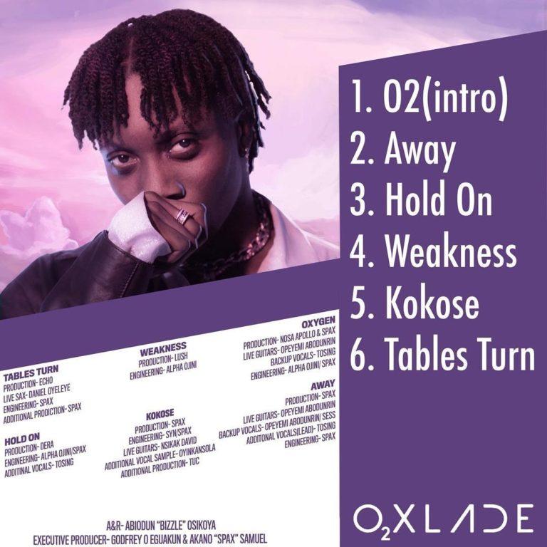 Oxlade – Tables Turn Ft. Moelogo