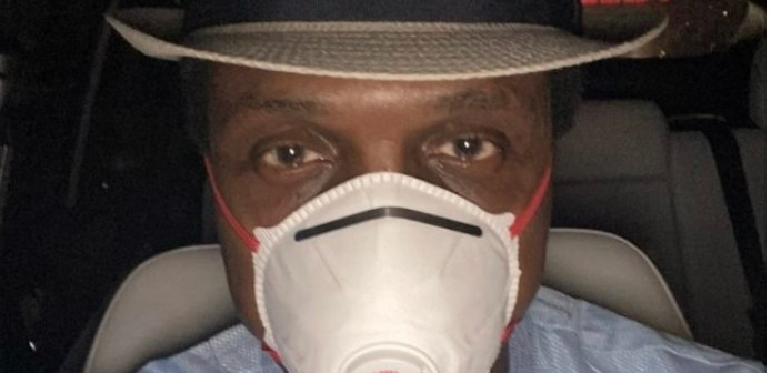 Tonye Cole in self isolation after being on same flight as infected person