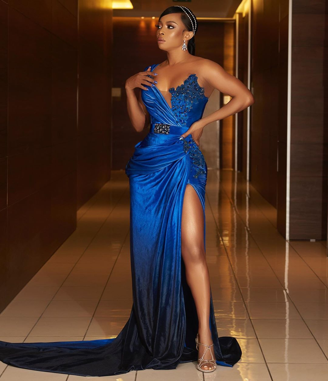 """I have been self-isolating"" Toke Makinwa says amidst AMVCA/Coronavirus news"