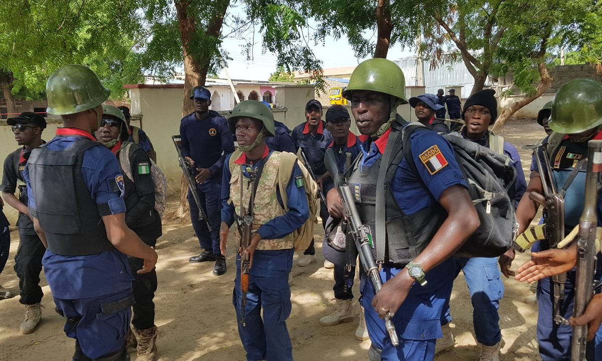 NSCDC nabs six suspected cultists, recover arms in Cross River State