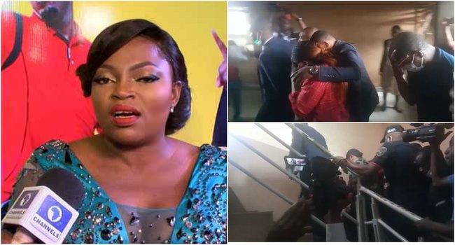 Funke Akindele, hubby plead guilty to violating social distancing order