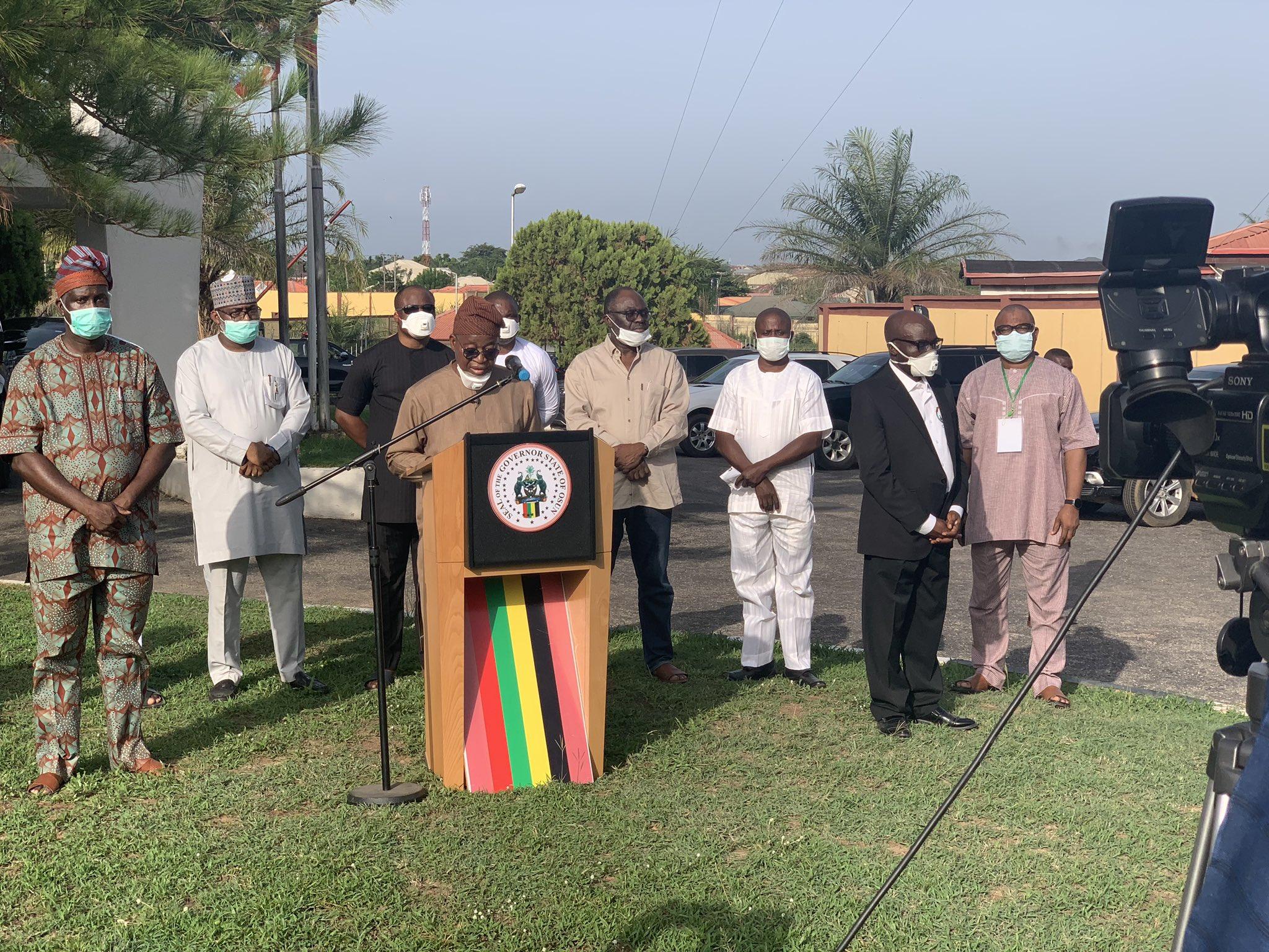 Osun Coronavirus patients have high viral load - Governor Oyetola