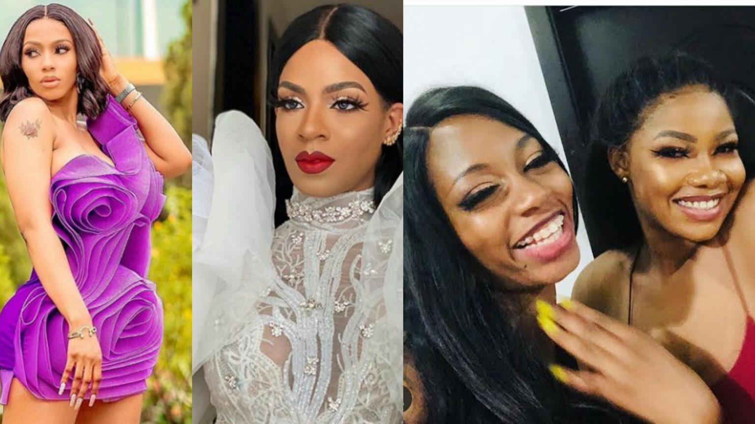 BBNaija ex-housemates Mercy, Tacha, Venita shade each other on Instagram