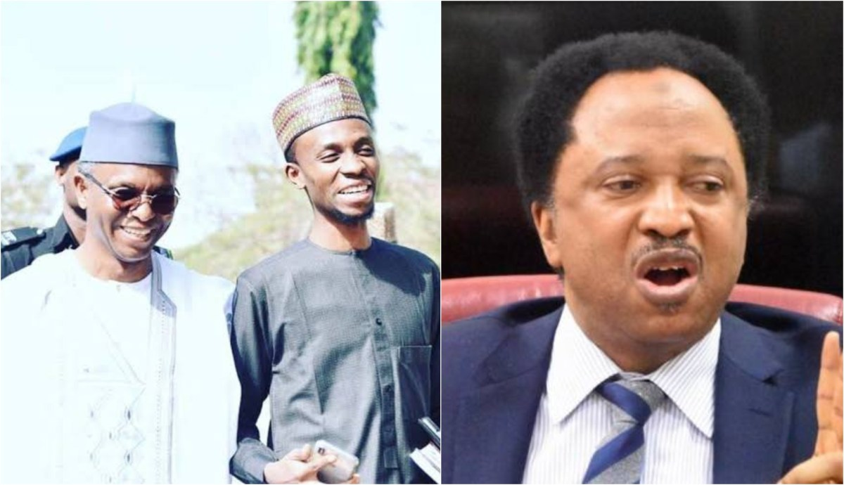 Shehu Sani and Govenor El-Rufai's son troll each other with distasteful pictures