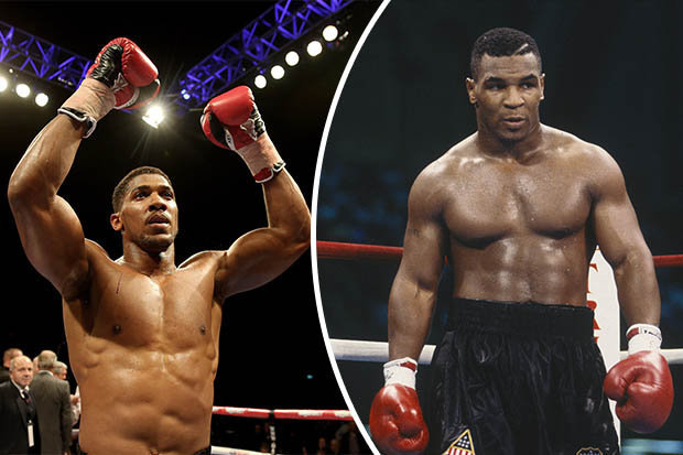 Anthony Joshua shares his thoughts on Mike Tyson's return to boxing
