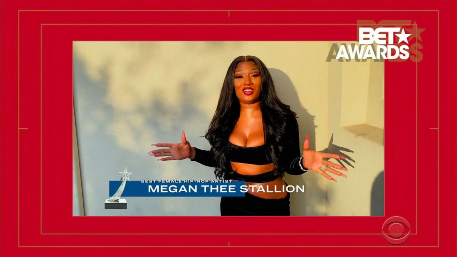 Megan Thee Stallion clinches BET Award Best Female Hip-Hop Artist