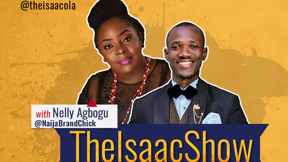 Nelly Agbogu on The Isaac Show topnaija.ng