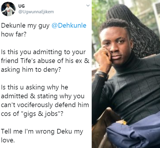 Twitter Influencers battle fight dirty as leaked voice note admitting rape surfaces topnaija.ng