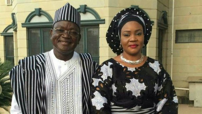 Benue governor's wife, son test positive for COVID-19 topnaija.ng