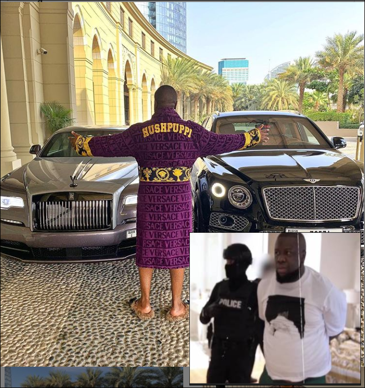 Hushpuppi has been transferred from Chicago to California