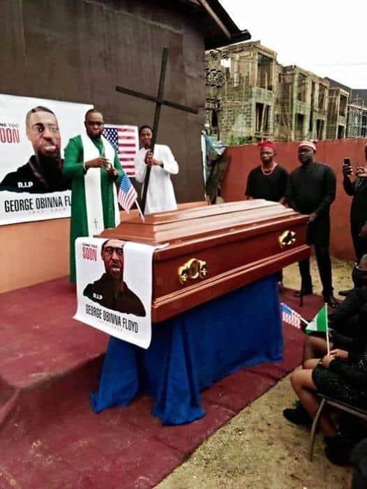 Meet Nigerian pastor who reburied George Floyd in Imo topnaija.ng