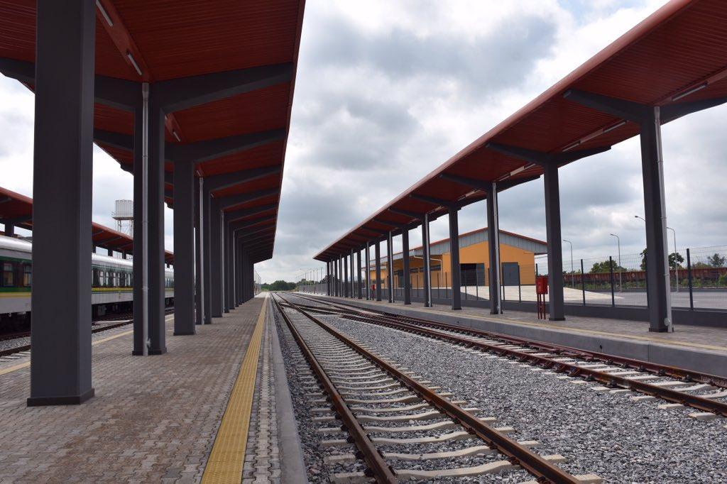 Photos of railway complex Buhari named after Jonathan topnaija.ng